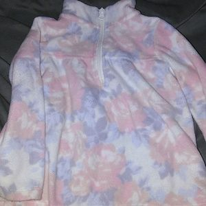 The Children's Place Shirts & Tops - Floral fleece